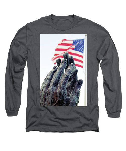 Pray For The Usa Long Sleeve T-Shirt
