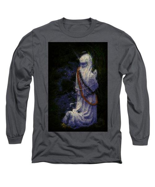 Praying Long Sleeve T-Shirt by Lori Seaman