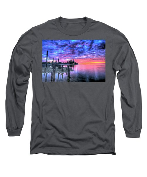 Pre Dawn At St. Marks #1 Long Sleeve T-Shirt