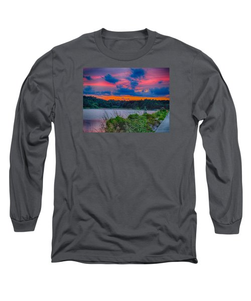 Pre-sunset At Hbsp Long Sleeve T-Shirt by Bill Barber