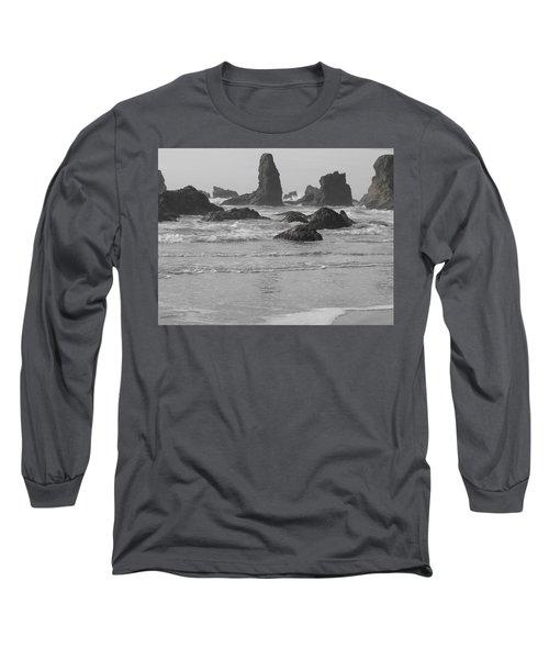Prehistoric Shore Long Sleeve T-Shirt