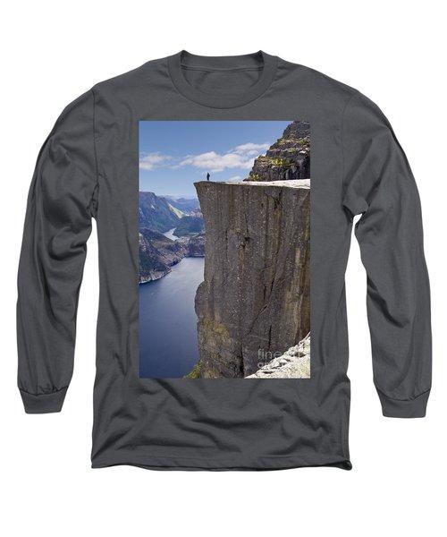 Preikestolen Long Sleeve T-Shirt by Heiko Koehrer-Wagner