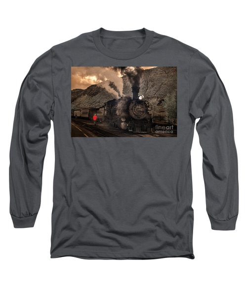 Preparing To Depart  Long Sleeve T-Shirt by William Fields