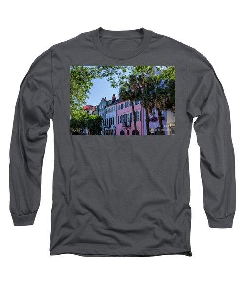 Presenting Rainbow Row  Long Sleeve T-Shirt