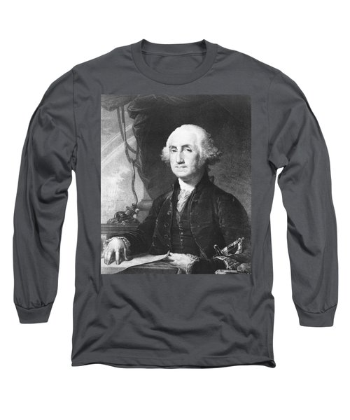 President George Washington Long Sleeve T-Shirt by International  Images