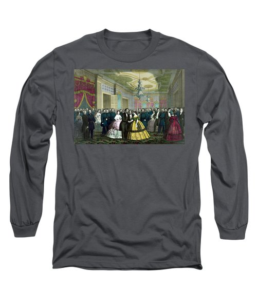 President Lincoln's Last Reception Long Sleeve T-Shirt