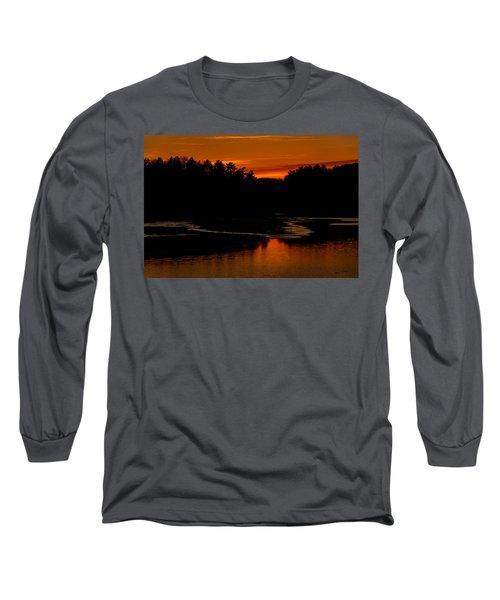 Presumpscot Sunset No.101 Long Sleeve T-Shirt