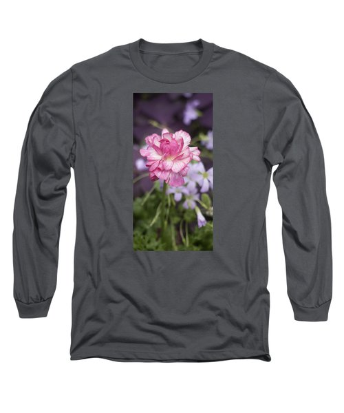 Pretty In Pink Long Sleeve T-Shirt by Morris  McClung