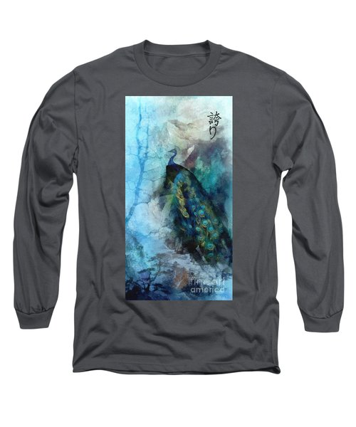 Long Sleeve T-Shirt featuring the painting Pride by Mo T