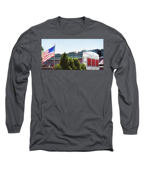 Long Sleeve T-Shirt featuring the photograph Pride Of Athens by Parker Cunningham