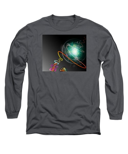 Pride Power Long Sleeve T-Shirt by Christopher Woods