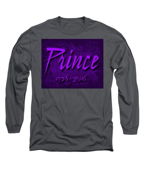 Prince Memorial Long Sleeve T-Shirt