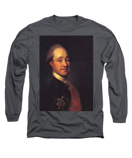 Prince Mikhail Shcherbatov 1781 Long Sleeve T-Shirt