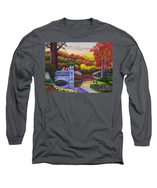 Princess Gardens Long Sleeve T-Shirt by Michael Frank