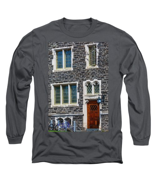 Long Sleeve T-Shirt featuring the photograph Princeton University Patton Hall No 9 by Susan Candelario