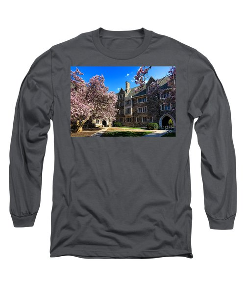 Princeton University Pyne Hall Courtyard Long Sleeve T-Shirt