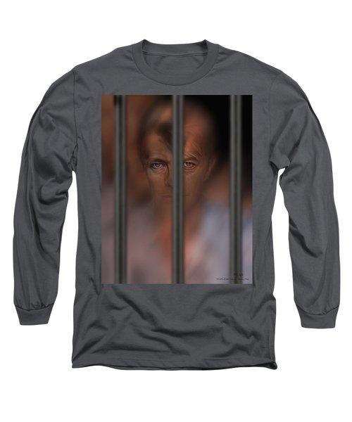 Prisoner Of Love Long Sleeve T-Shirt by Pedro L Gili