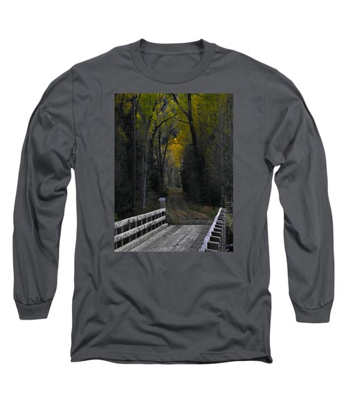 Privacy Long Sleeve T-Shirt by Laura Ragland