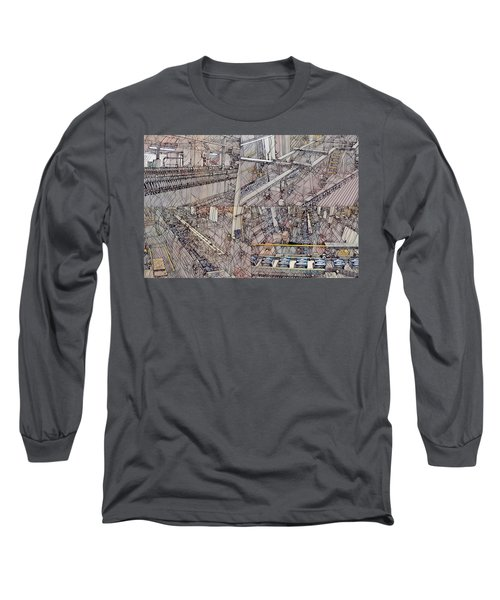 Production Line Long Sleeve T-Shirt