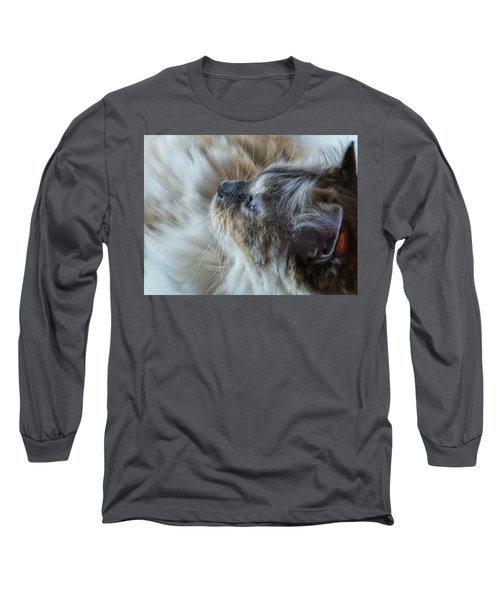 Long Sleeve T-Shirt featuring the photograph Profile by Karen Stahlros