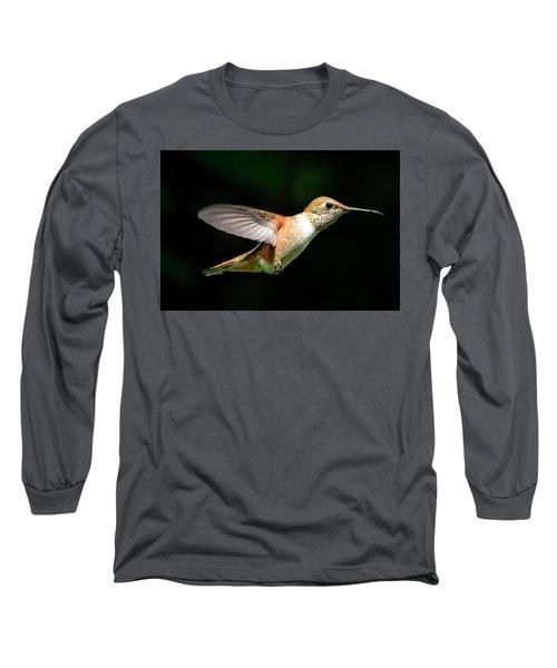 Profile Long Sleeve T-Shirt by Sheldon Bilsker