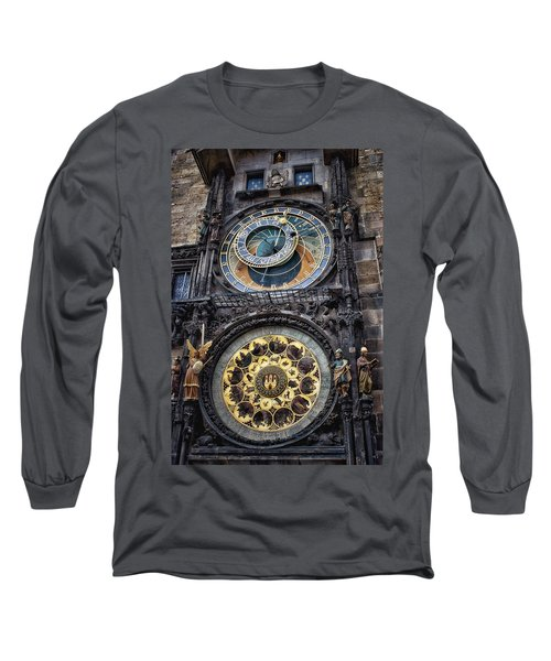 Progue Astronomical Clock Long Sleeve T-Shirt
