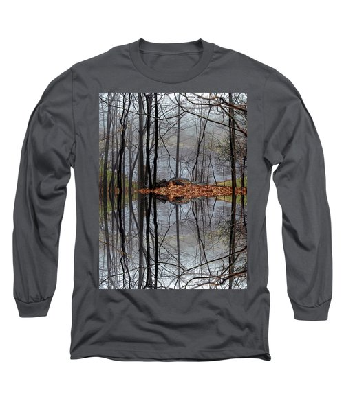 Projecting Contentment Long Sleeve T-Shirt