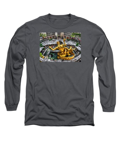 Long Sleeve T-Shirt featuring the photograph Prometheus by Rafael Quirindongo