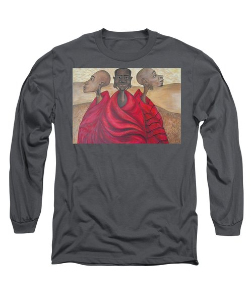 Protectors Long Sleeve T-Shirt by Jenny Pickens