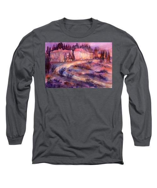 Provence France Country Estate Long Sleeve T-Shirt