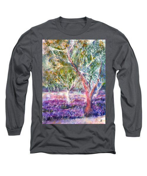 Provence Lavender And Olive Trees Long Sleeve T-Shirt
