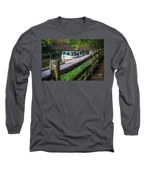 Providence Metropark Erie Canal  Long Sleeve T-Shirt