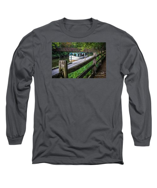 Providence Metropark Erie Canal  Long Sleeve T-Shirt