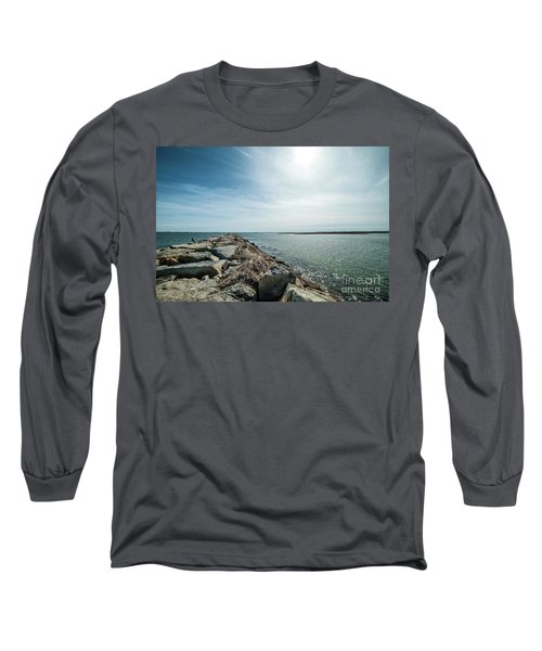 Provincetown Breakwater Long Sleeve T-Shirt