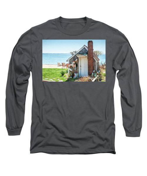 Provincetown Shed Long Sleeve T-Shirt