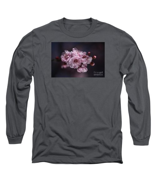 Prunus A Pink Spring Long Sleeve T-Shirt