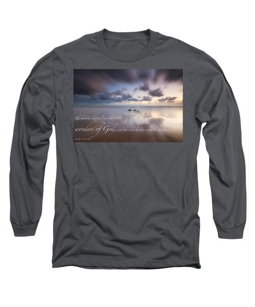 Psalm 19 1 Long Sleeve T-Shirt