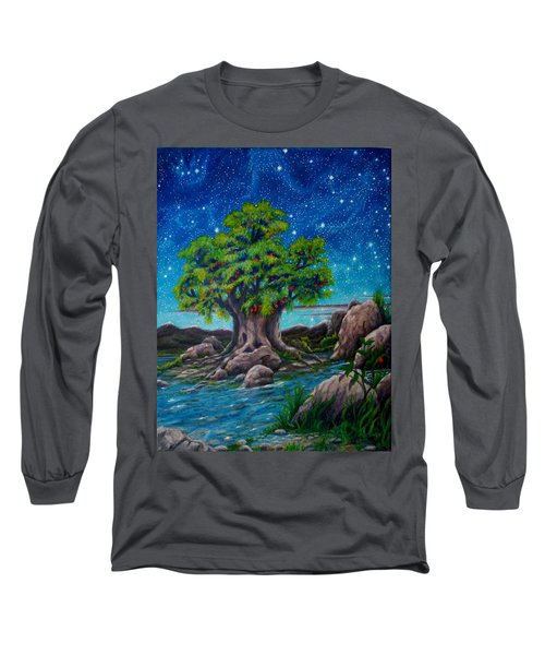 Psalm One Long Sleeve T-Shirt by Matt Konar