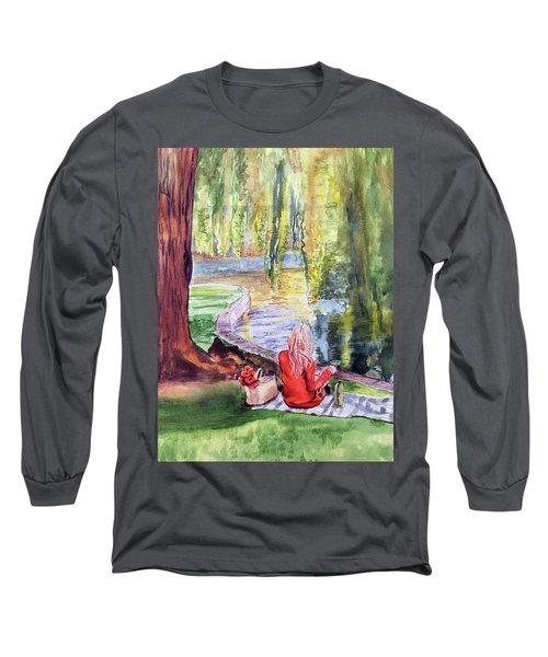 Public Garden Picnic Long Sleeve T-Shirt