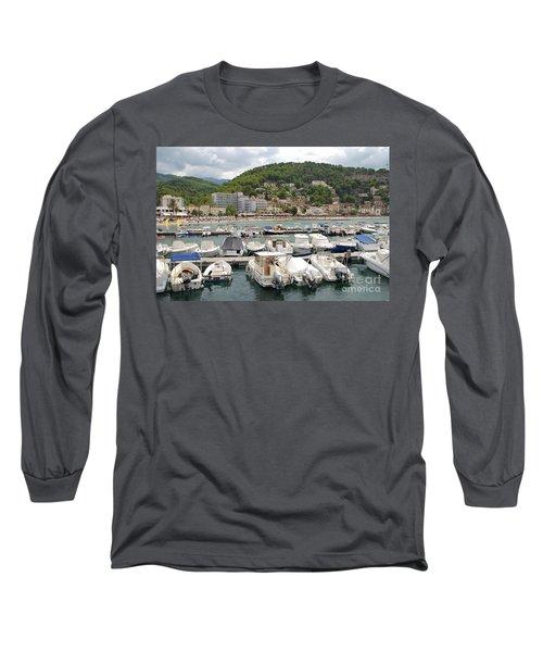 Puerto De Soller In Majorca Long Sleeve T-Shirt