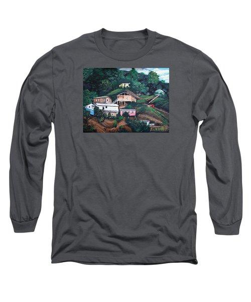 Puerto Rico Mountain View Long Sleeve T-Shirt