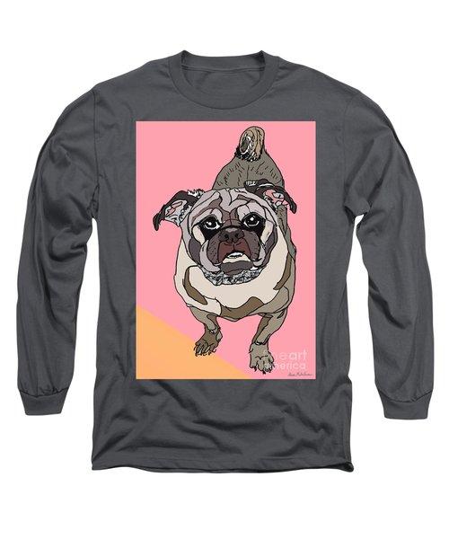 Pug In Digi Long Sleeve T-Shirt