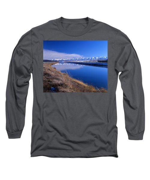 Pukaki Canal  Long Sleeve T-Shirt