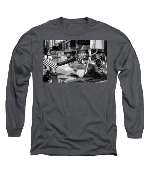 Pulling The Shot Long Sleeve T-Shirt