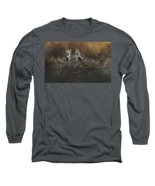Long Sleeve T-Shirt featuring the photograph Pulsatilla Nigricans by Davorin Mance