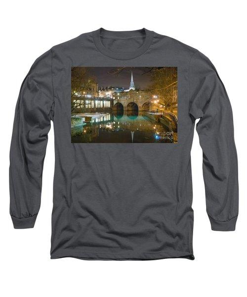 Pulteney Bridge, Bath Long Sleeve T-Shirt