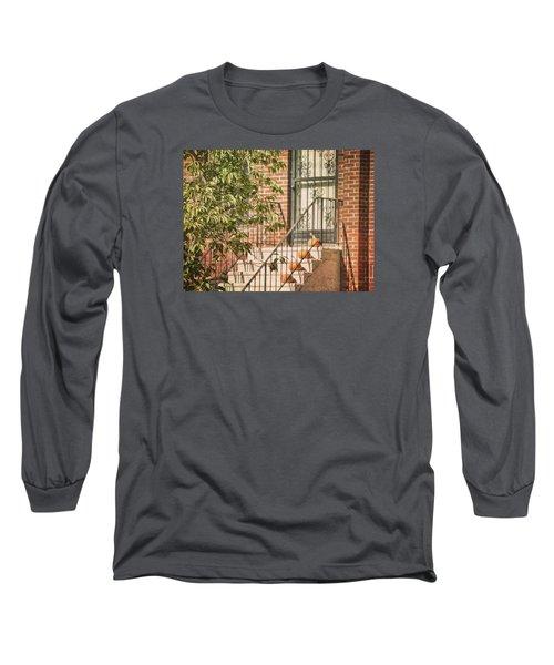 Pumpkin Portico Long Sleeve T-Shirt