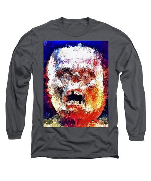 Pumpkin Scream Long Sleeve T-Shirt