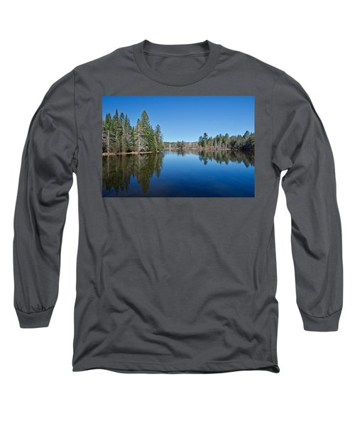 Long Sleeve T-Shirt featuring the photograph Pure Blue Waters 1772 by Michael Peychich