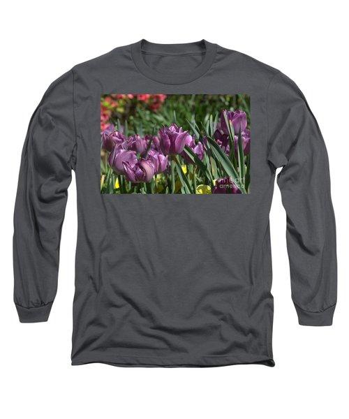 Purple Bliss Long Sleeve T-Shirt